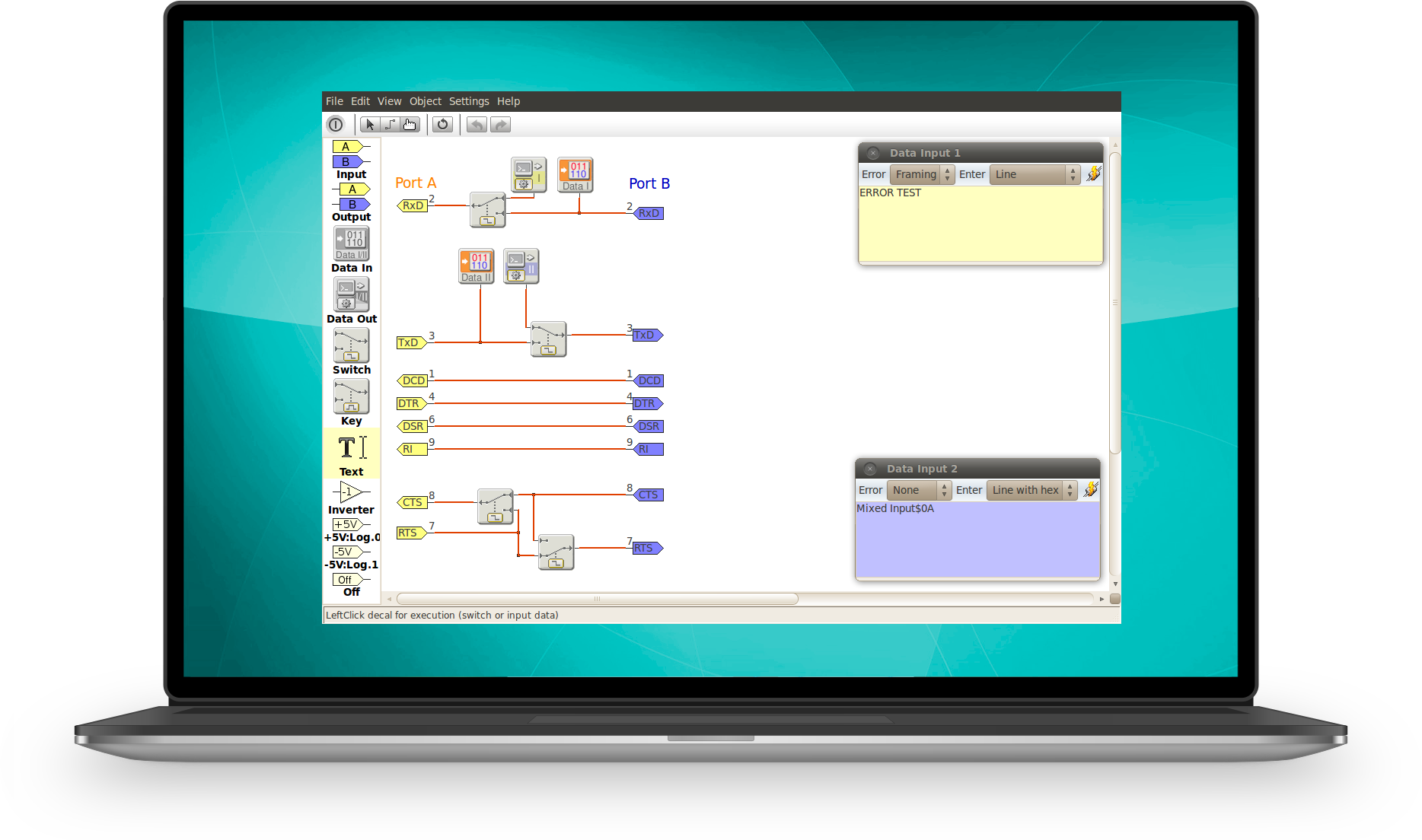 RS232 Analyzer Features
